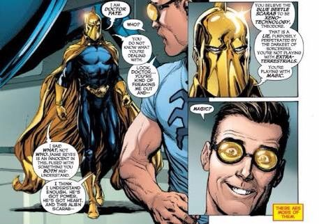 Does anybody know what's going on with original Dr. Fate? Doctor10