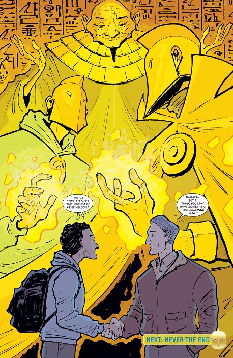 Does anybody know what's going on with original Dr. Fate? From_d11
