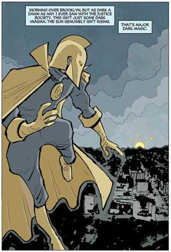 Does anybody know what's going on with original Dr. Fate? Kent_n10