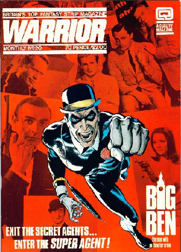 Overall Favourite British Comics Character Warrio10