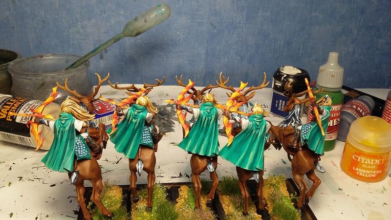 [Haut-elfes - Nains] Armée de Aesanar - Page 2 Patrou10