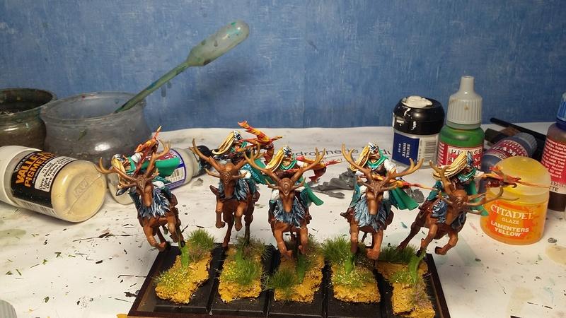 [Haut-elfes - Nains] Armée de Aesanar - Page 2 Patrou11