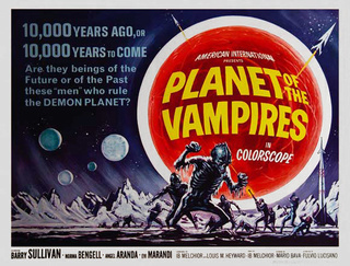 La Planète des vampires (Terrore nello spazio) [Digibook] Affich10