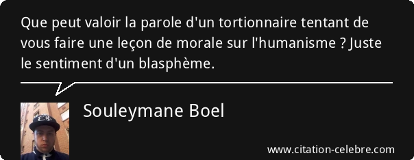 proverbe tortionnaire