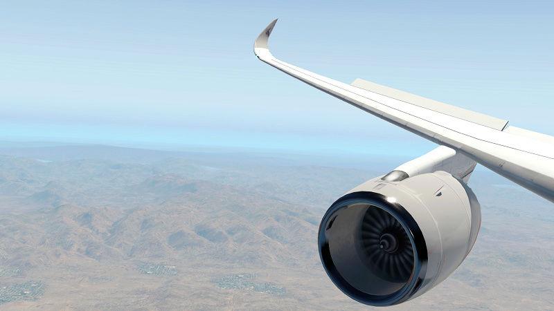X plane 11 A350_x10
