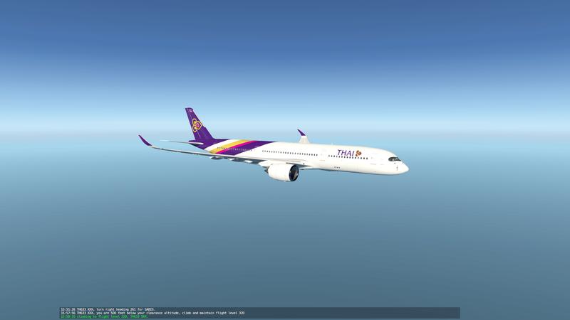 X plane 11 A350_x12