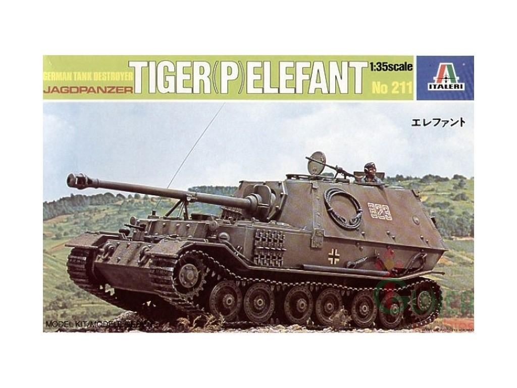 Tiger (P) Elefant ITALERI 1/35 Italer11