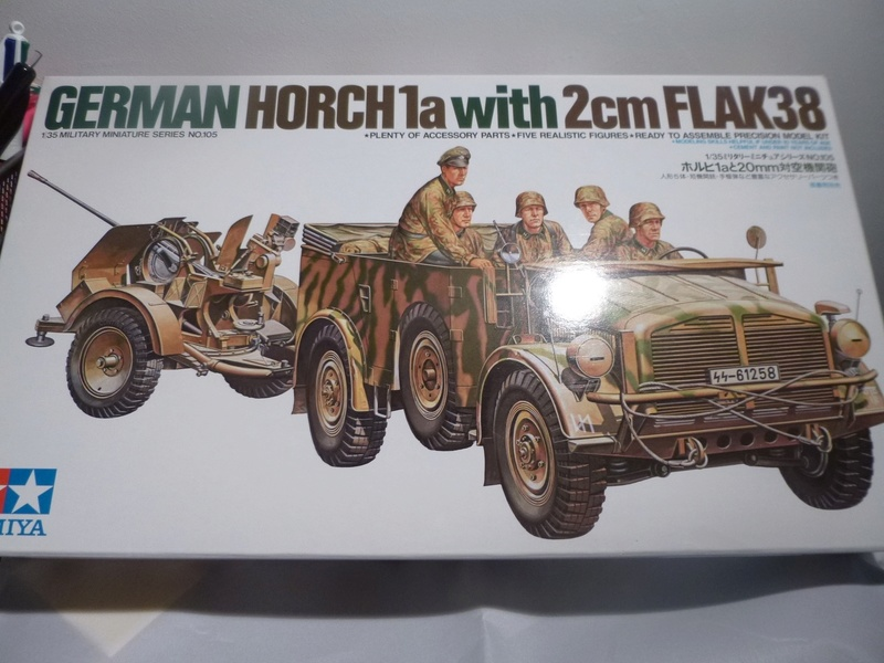 Horch 1a + canon de 20mm - Normandie 1944 - TAMIYA 1/35 P1030841
