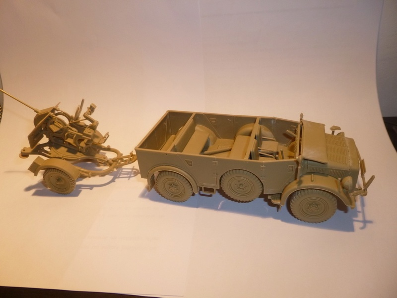 Horch 1a + canon de 20mm - Normandie 1944 - TAMIYA 1/35 P1030845