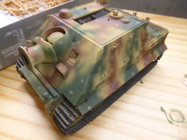Sturmtiger Ardennes décembre 1944 - Italeri 1:35 P1040019