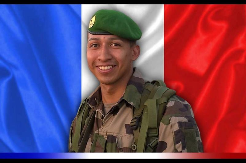 Décès du sergent Anthony PAIBA VALVERDE, 13e DBLE 1310