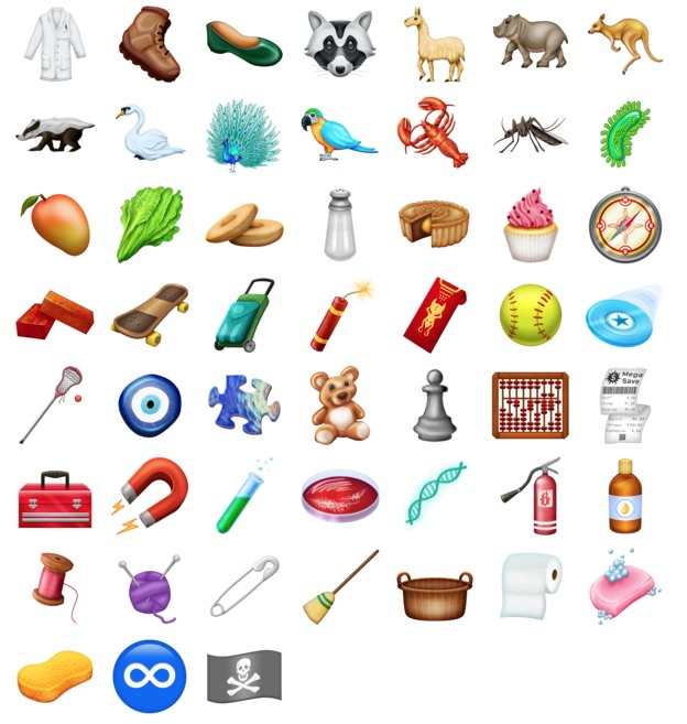 New Emoji Coming to iPhones and iPads Soon 410