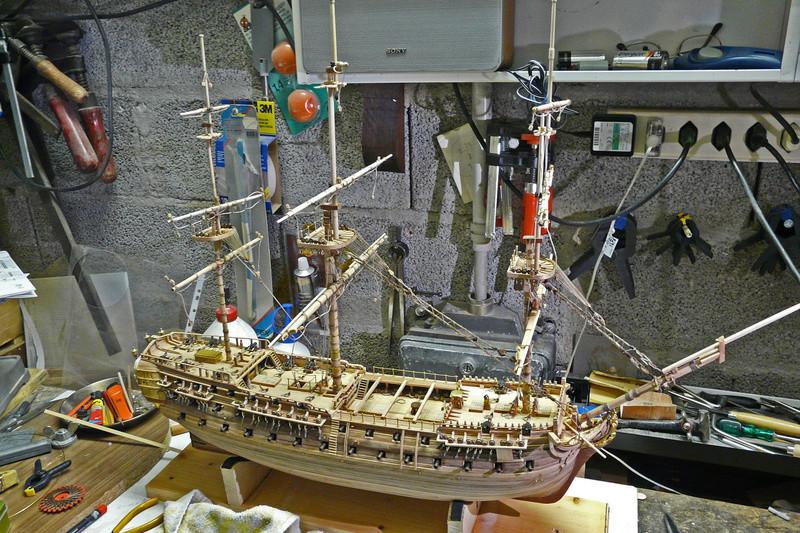 Fertig - Die Bellona 1760 bis 1814 gebaut von Helling Bello107