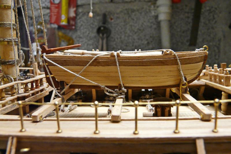Fertig - Die Bellona 1760 bis 1814 gebaut von Helling Bello115