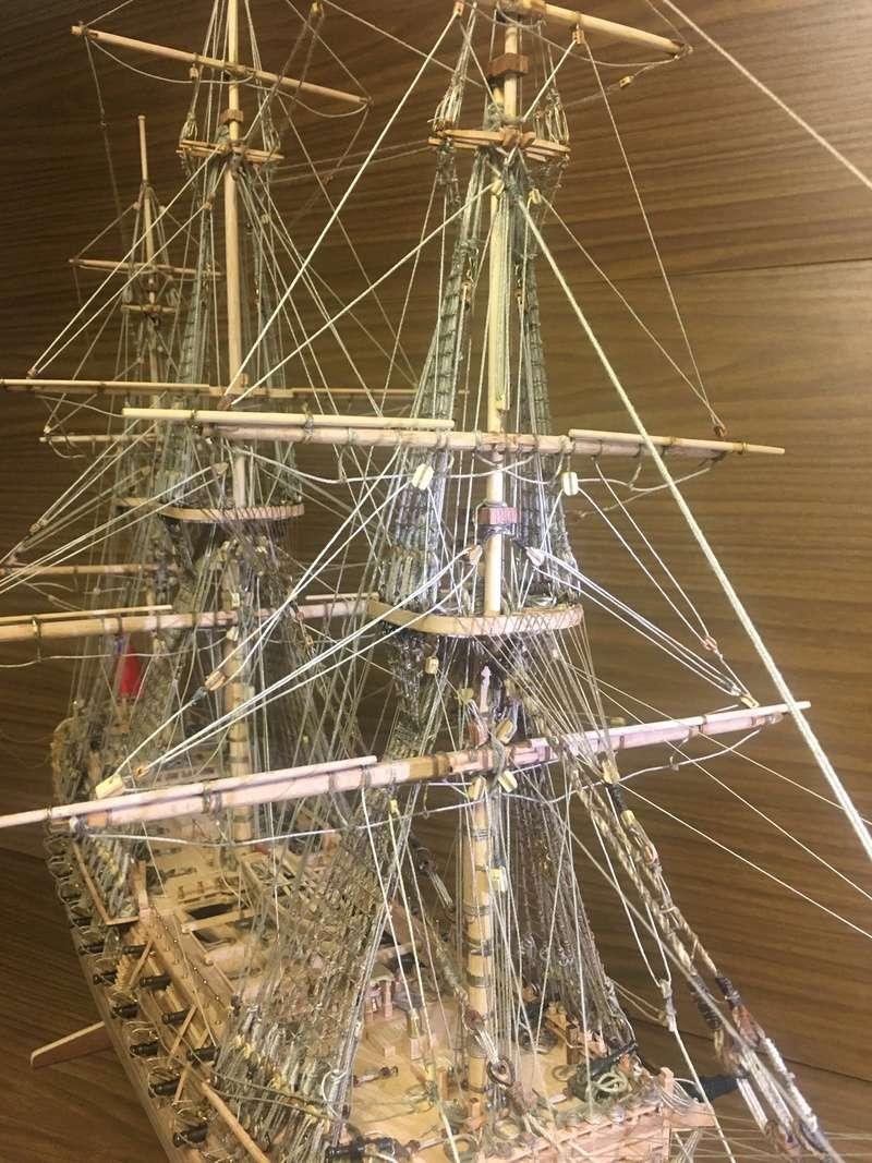 Fertig - Die Bellona 1760 bis 1814 gebaut von Helling Bello125