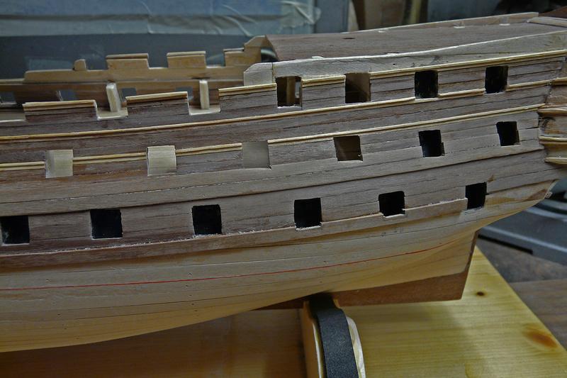 Fertig - Die Bellona 1760 bis 1814 gebaut von Helling Bellon52