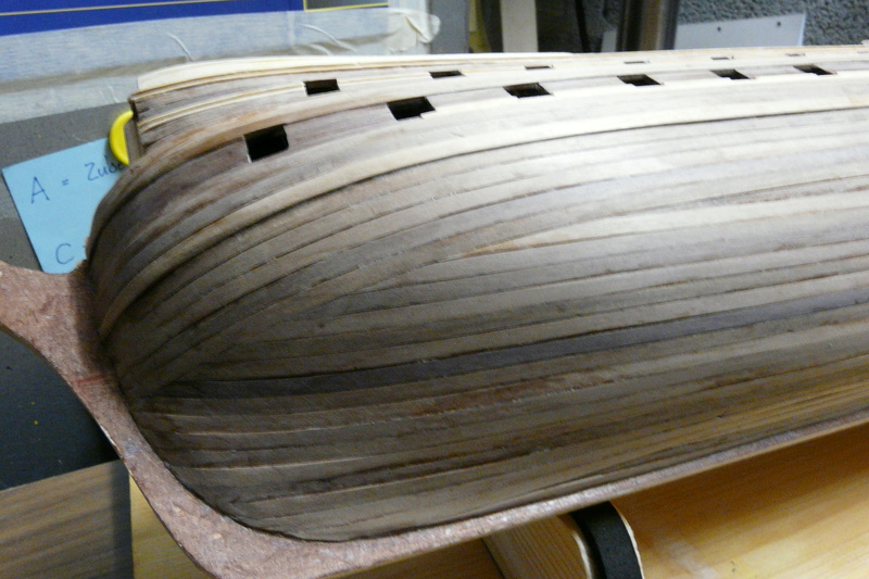 Fertig - Die Bellona 1760 bis 1814 gebaut von Helling Bellon53