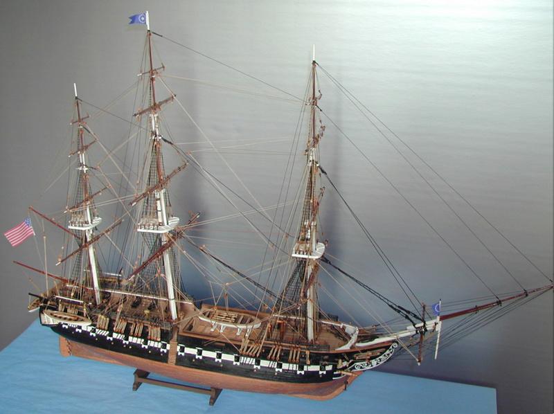 Fertig - Die Bellona 1760 bis 1814 gebaut von Helling Consti11