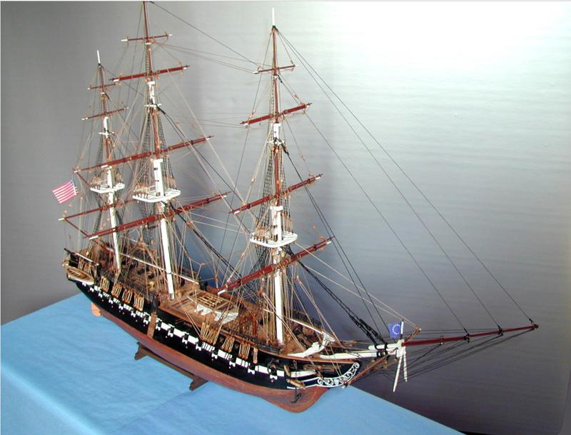Fertig - Die Bellona 1760 bis 1814 gebaut von Helling Consti12