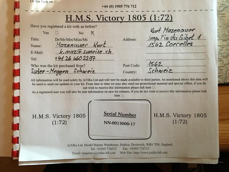 Nochmals ein Bauversuch, die H.M.S. Victory gebaut von Helling Vic_1b11