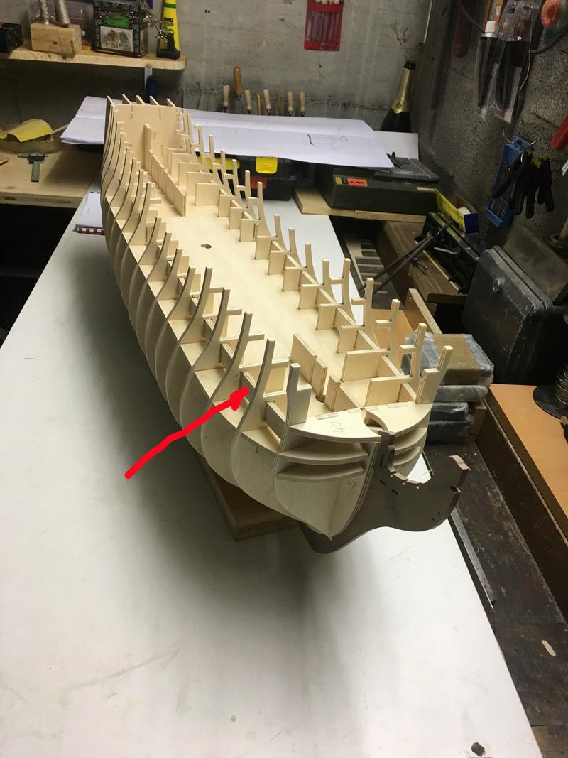 Nochmals ein Bauversuch, die H.M.S. Victory gebaut von Helling Vic_1q12