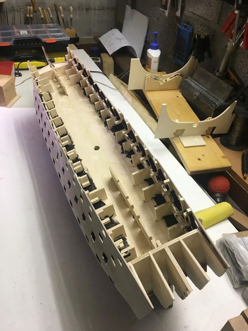Nochmals ein Bauversuch, die H.M.S. Victory gebaut von Helling Vioc_211