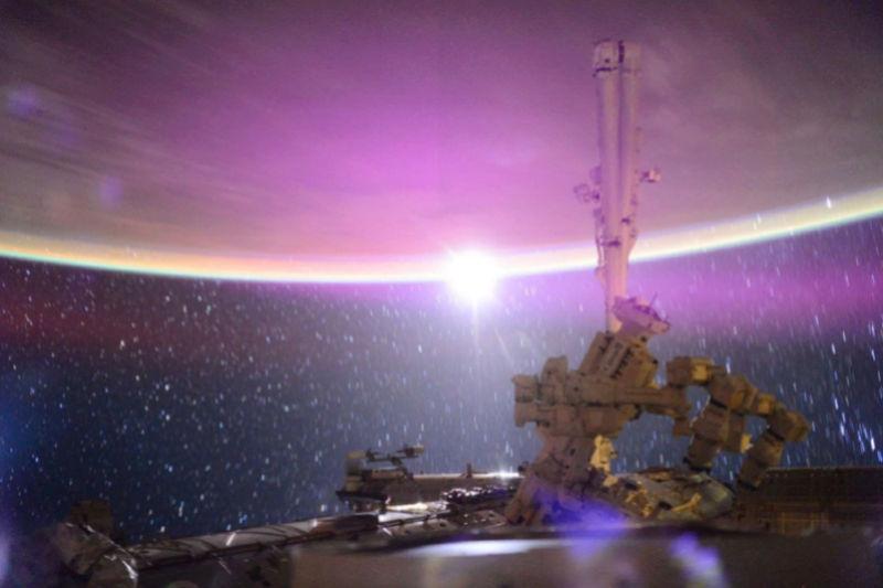 La Terre vue de l'espace : les astronautes ont les plus belles vues. 519