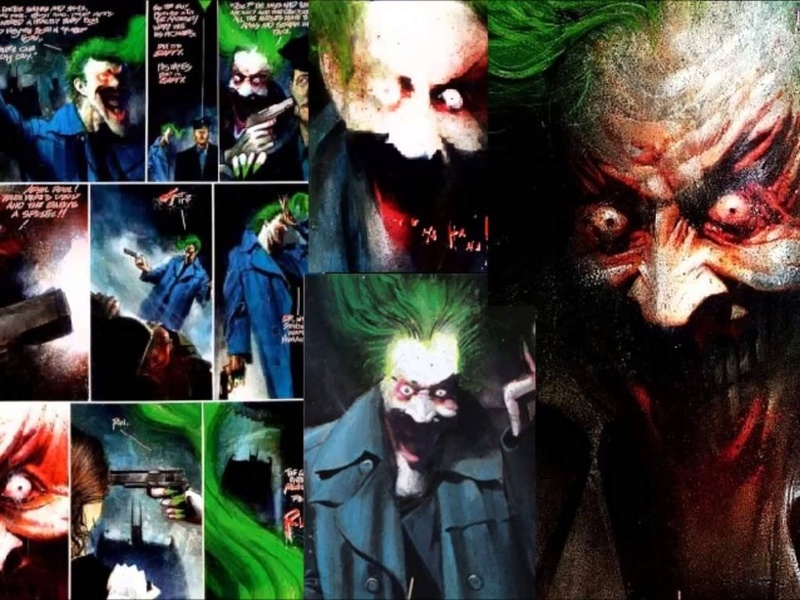 Dave McKean, artiste de la BD Batman10