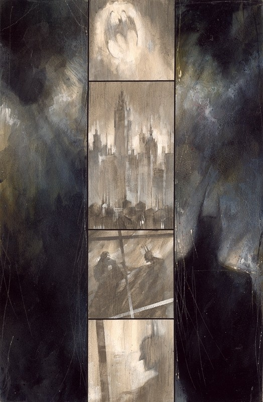 Dave McKean, artiste de la BD Batman12