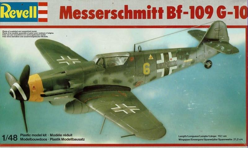 [Revell] (1-48) Messerschmitt Bf 109 G-10: rénovation Bf109r10