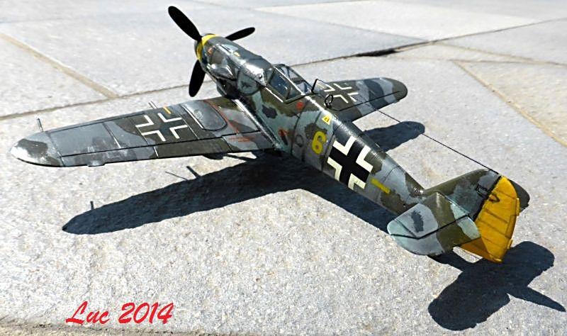 [Revell] (1-48) Messerschmitt Bf 109 G-10: rénovation Bf109r12