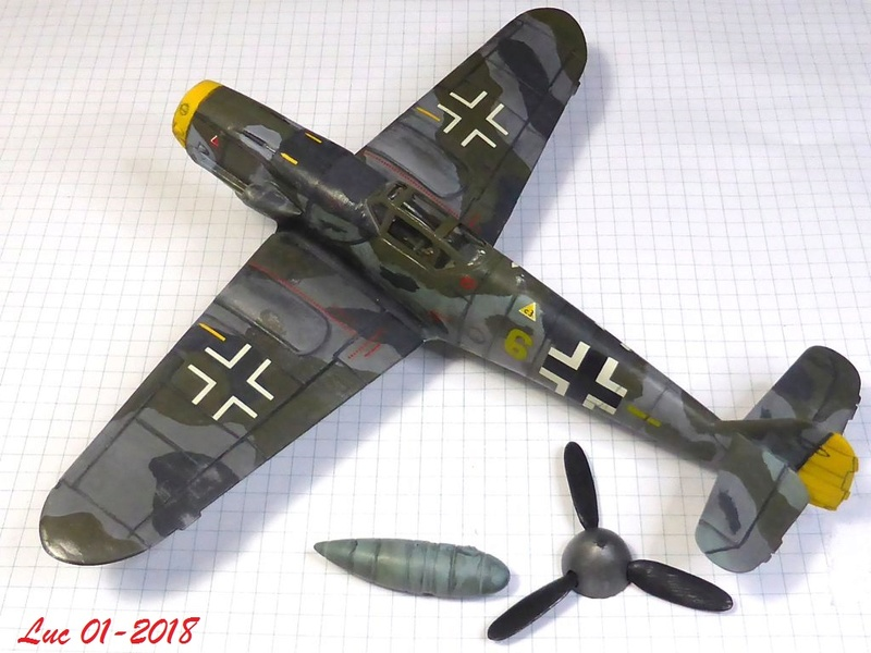 [Revell] (1-48) Messerschmitt Bf 109 G-10: rénovation Bf109r13