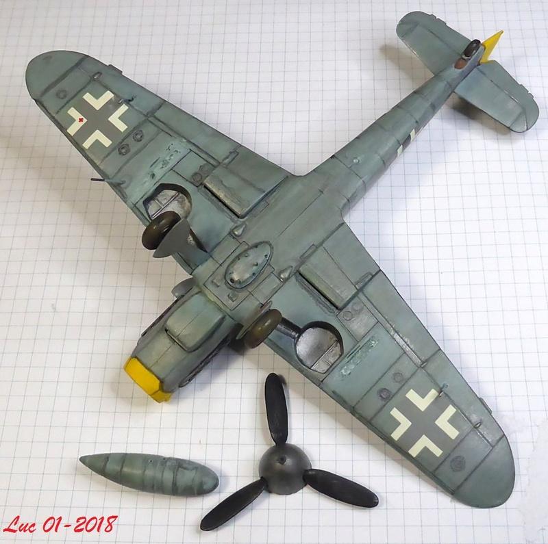 [Revell] (1-48) Messerschmitt Bf 109 G-10: rénovation Bf109r14