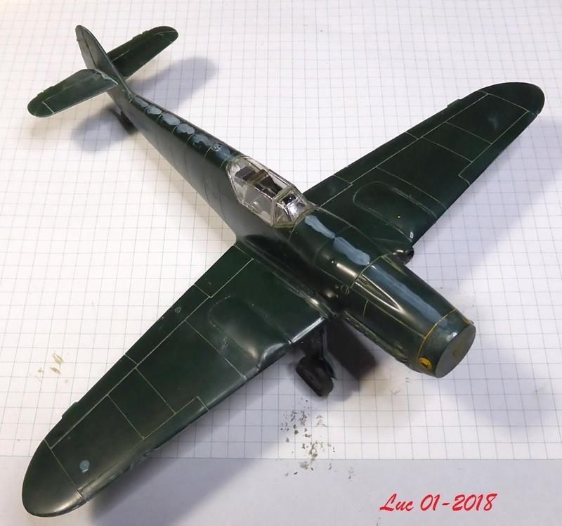 [Revell] (1-48) Messerschmitt Bf 109 G-10: rénovation Bf109r15