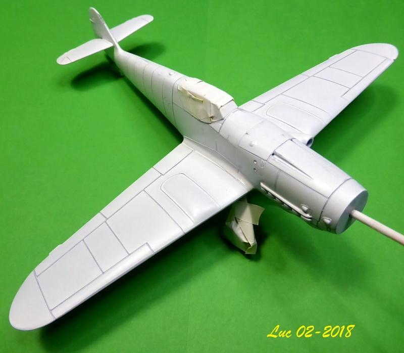 [Revell] (1-48) Messerschmitt Bf 109 G-10: rénovation Bf109r16
