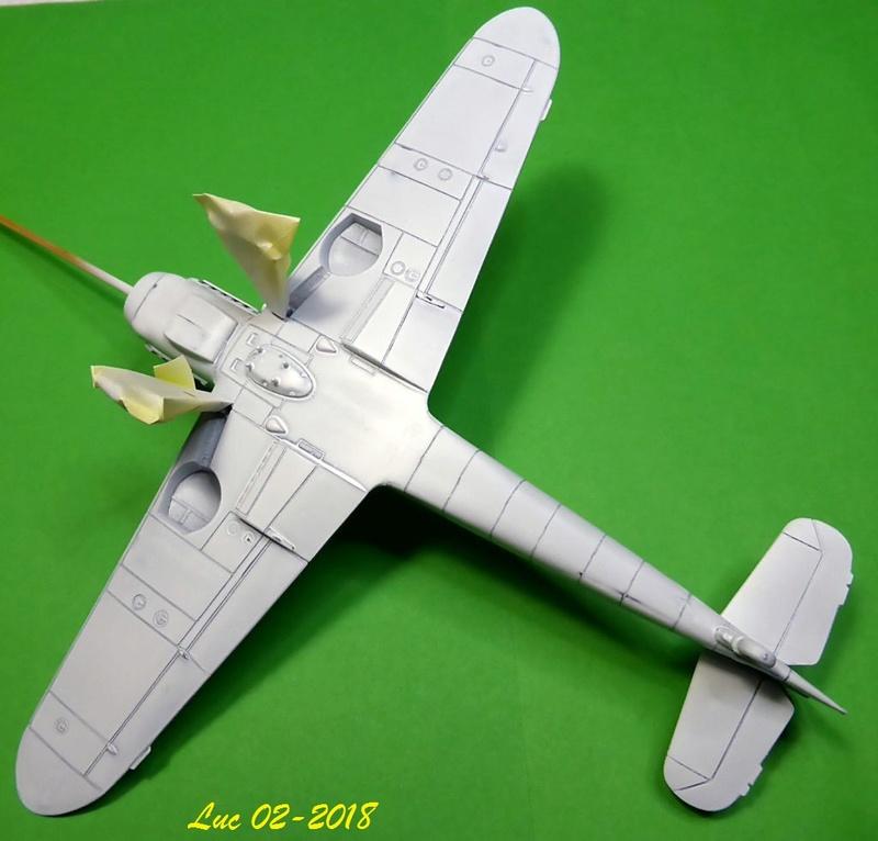 [Revell] (1-48) Messerschmitt Bf 109 G-10: rénovation Bf109r17