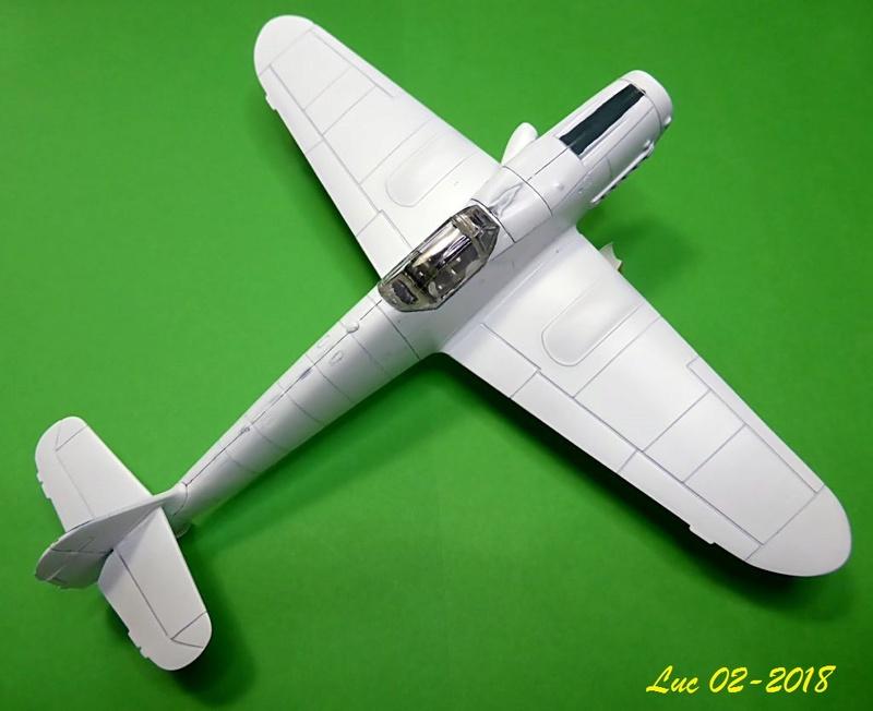[Revell] (1-48) Messerschmitt Bf 109 G-10: rénovation Bf109r18