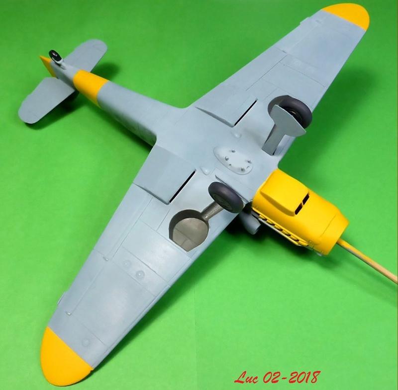 [Revell] (1-48) Messerschmitt Bf 109 G-10: rénovation - Page 3 Bf109r31