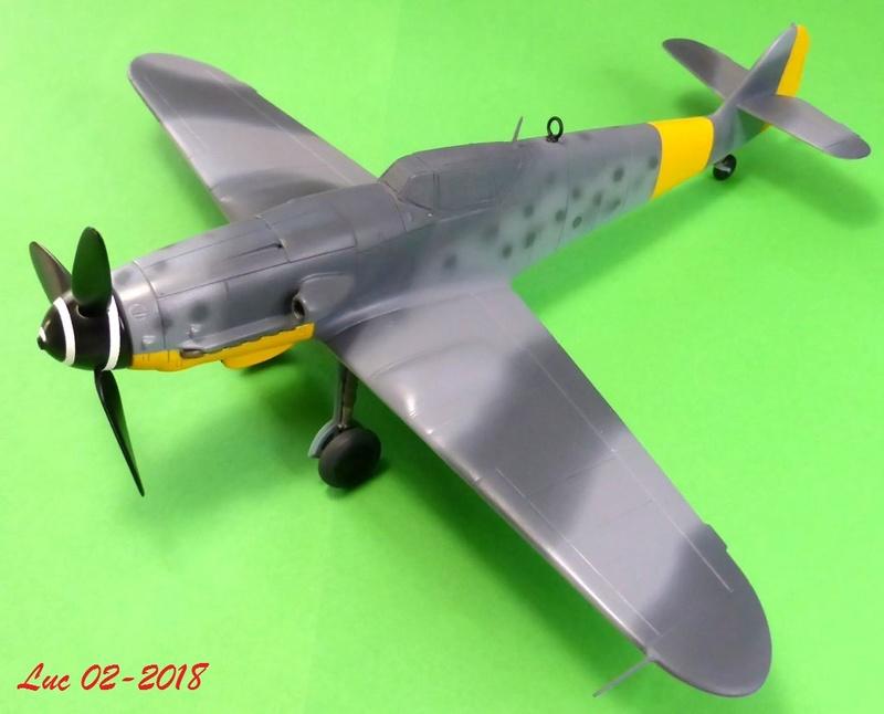 [Revell] (1-48) Messerschmitt Bf 109 G-10: rénovation - Page 3 Bf109r33