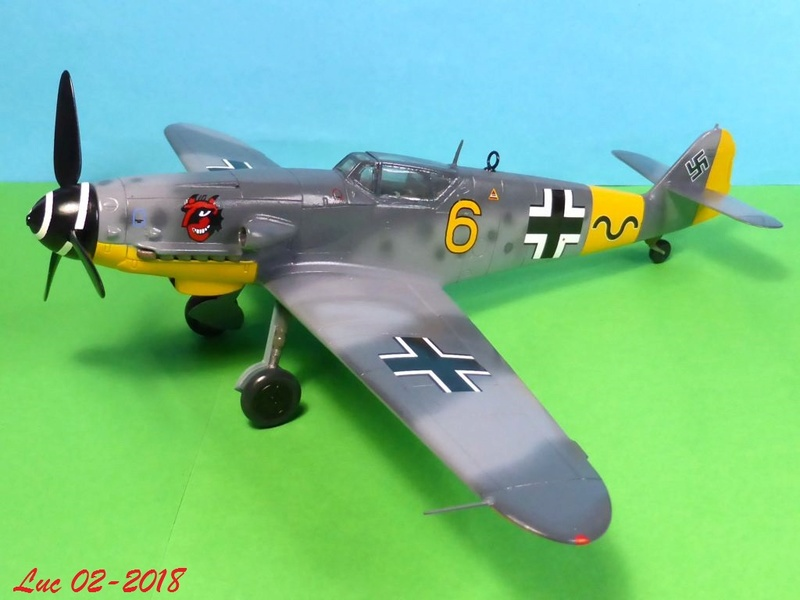 [Revell] (1-48) Messerschmitt Bf 109 G-10: rénovation - Page 3 Bf109r36