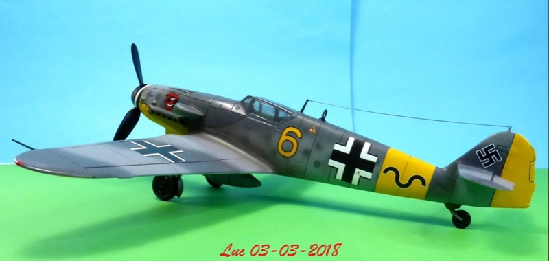 [Revell] (1-48) Messerschmitt Bf 109 G-10: rénovation - Page 4 Bf109r45