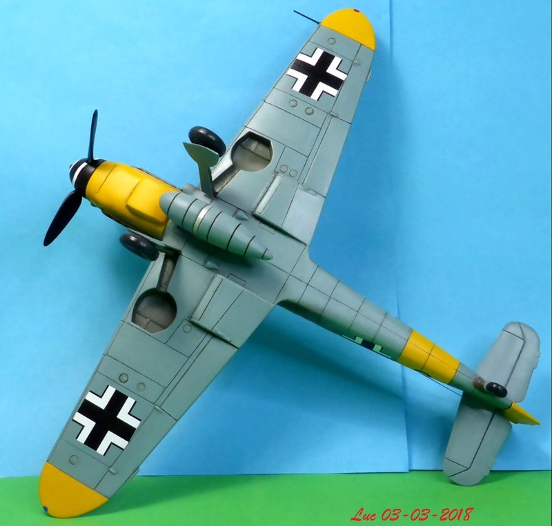 [Revell] (1-48) Messerschmitt Bf 109 G-10: rénovation - Page 4 Bf109r47