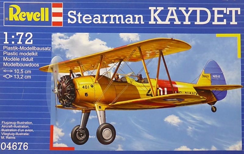 From the box - BOEING STEARMAN KAYDET PT17 - REVELL 1/72 - REF 04676 *** Terminé en pg 3 - Page 2 Kaydet10