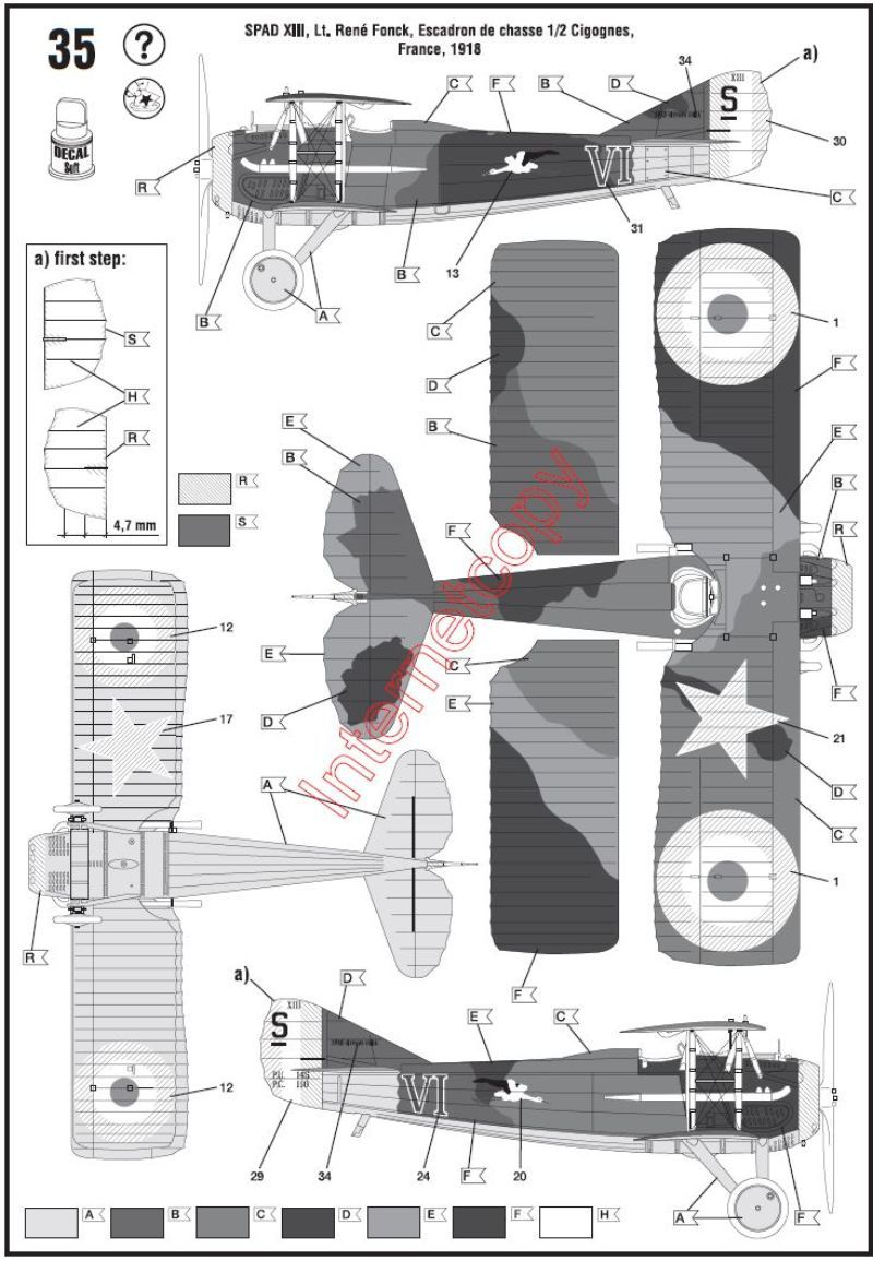 [Revell] SPAD XIII de René Fonck Spad1319