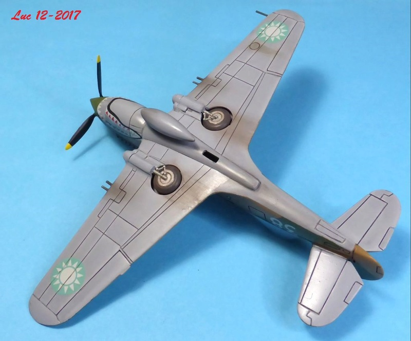 [Frog] CURTISS P-40 TOMAHAWK 2 versions - Page 5 Tpf-3510