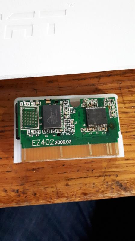 PCB d'un linker GBA EZ-FLASH IV 20171011