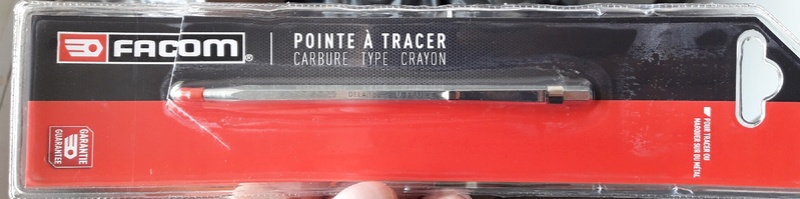 Pointe à tracer carbure type crayon 20180231