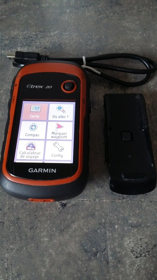 [Vendu] Garmin etrex 20 + carte france 20171114