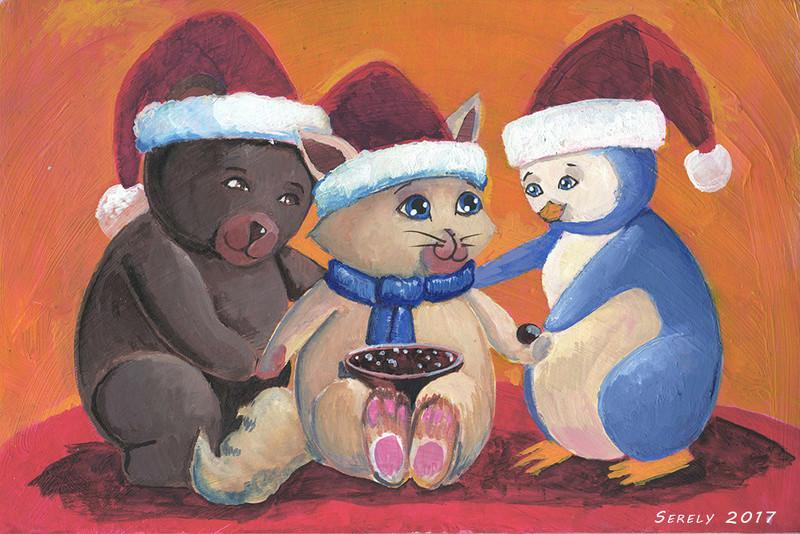Serely's Art - des toiles et du Puik Noel_p10