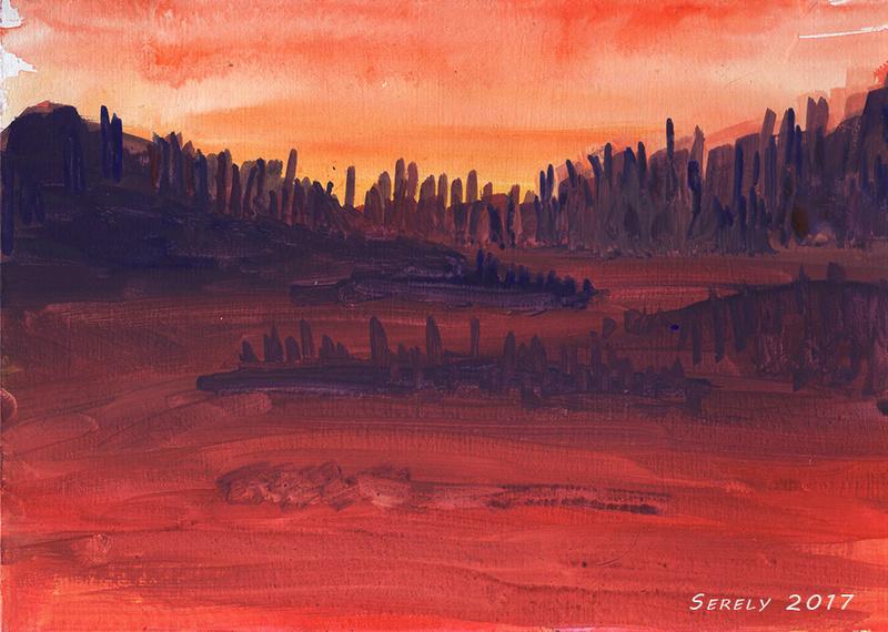 [challenge de l'été P6] - Serely's training, eye of ze taïgueur - Page 3 Sunset10